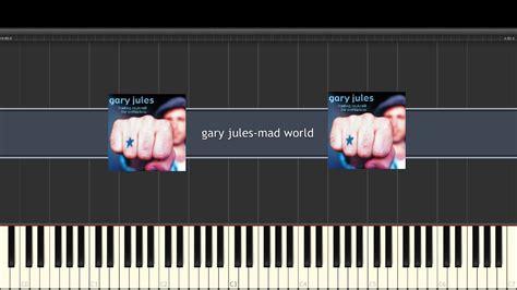 tutorial piano mad world gary jules mad world easy piano tutorial youtube
