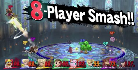 best 4 player wii smash bros for wii u is completely and