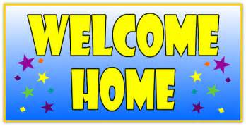 welcome home signs welcome home banner 109 welcome home banner templates
