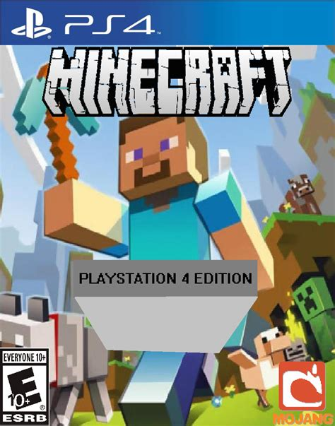 Minecraft Playstation 4 Edition Ps4 Reg 1 Minecraft Playstation 4 Ps4 By Djshby On Deviantart