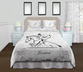 equestrian bedding eventing duvet cover equestrian themed