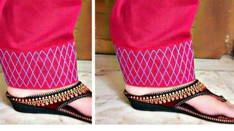 beautiful salwars mohri design stitching simple craft ideas
