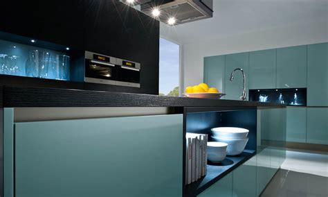 Images Kitchen Islands steel blue kitchen style