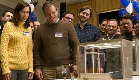 downsizing movie get small with the first full teaser trailer for downsizing