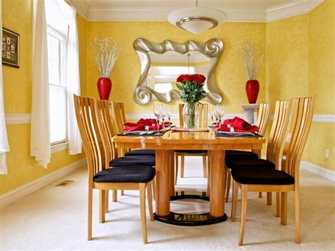 yellow dining room ideen a designer s home goes contemporary beth davidson hgtv