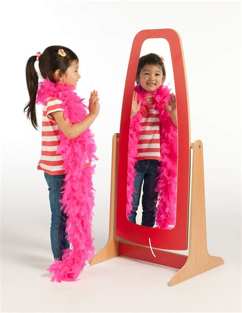 Dressing Up galaxy dressing up mirror childrens wooden dressing up
