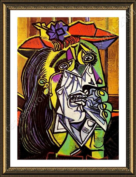 picasso paintings ebay framed poster weeping pablo picasso for bedroom wall