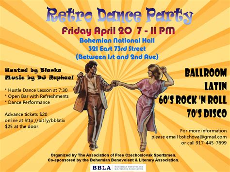 vintage dance party retro dance party raphael pungin