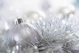 silver decorations for christmas