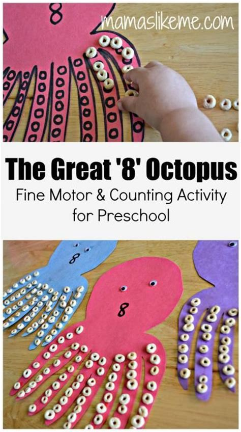 pattern games for 10 year olds mamas like me the great 8 octopus counting and fine