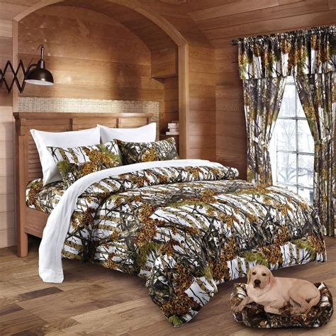 camo bedding comforter only snow camo the sw company