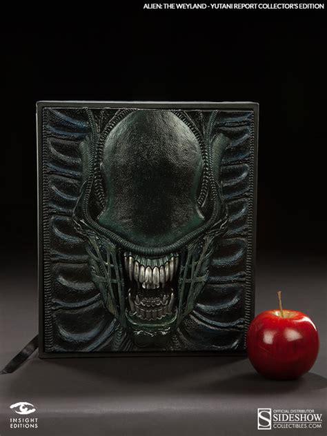 alien cookbook alien alien the weyland yutani report collectors edition
