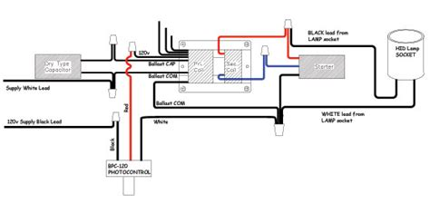 photocell wiring diagram lighting wiring diagram schemes