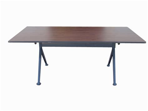 Collapsible Conference Table Metro Retro Furniture Vecta Ballet X 6ft Folding Conference Table Brown