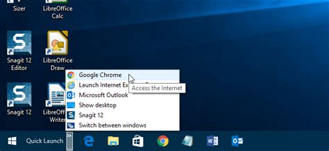 windows 7 start bar on top how to bring back the quick launch bar in windows 7 8 or 10