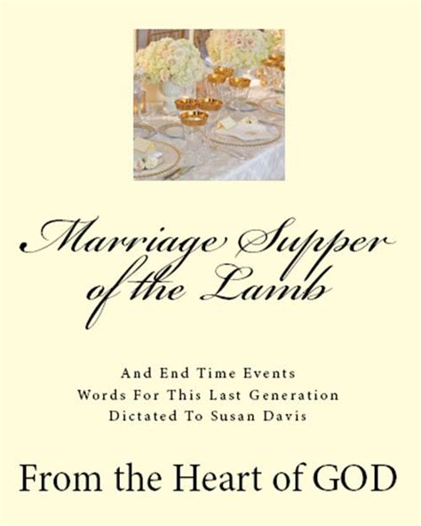 Bible Wedding Supper Of The by Smashwords Marriage Supper Of The A Book By Susan