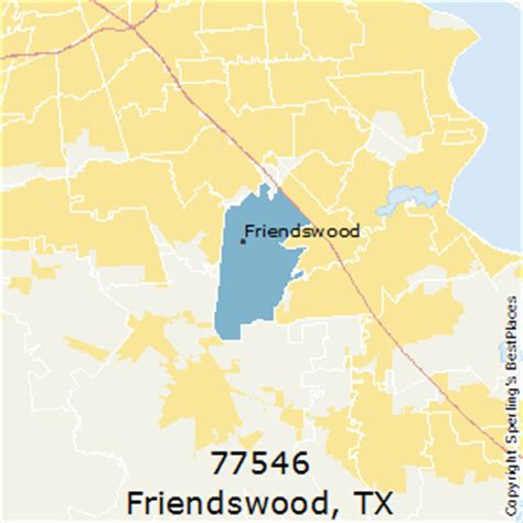 friendswood texas map best places to live in friendswood zip 77546 texas