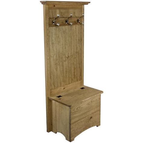 narrow tree storage bench entryway coat rack bench dnlwoodworks