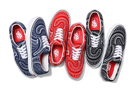 vans x supreme supreme x vans 2014 summer collection
