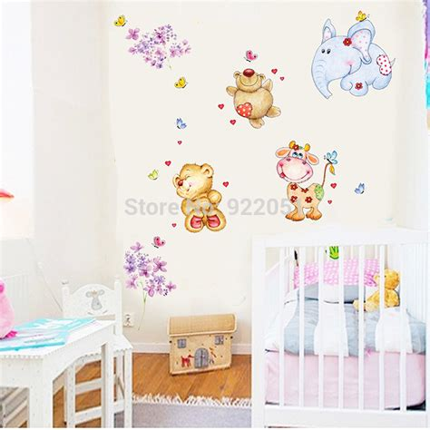 Wall Sticker Wall Stiker Stiker Dinding Animal Pororo Ay9175 jual wall sticker stiker dinding murah