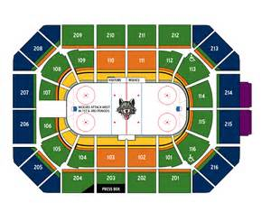 seating for faith and fellowship night presented by judson university chicago wolves