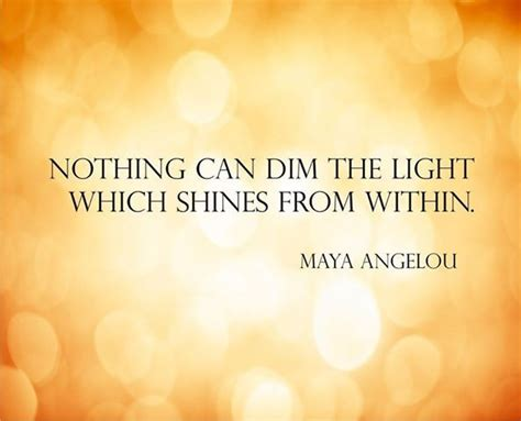shine from within in soul