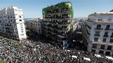 huge protests  algeria  allies turn  bouteflika