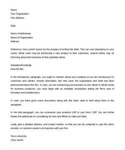 Business Letters Of Introduction Sample 10 Letter Of Introduction Templates Free Sample