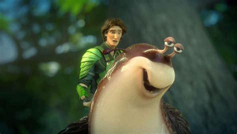 epic film animazione epic la lumaca mub con nod in una scena del colorato film