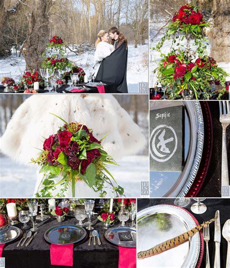 fantasy wedding themes game thrones tulle