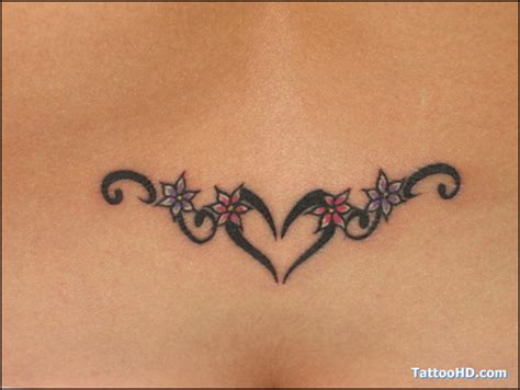 heart tribal lower back tattoos images designs