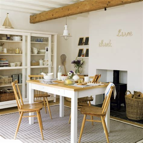 Dining Room Photo by Coastal Home Inspirations On The Horizon Rustic Coastal