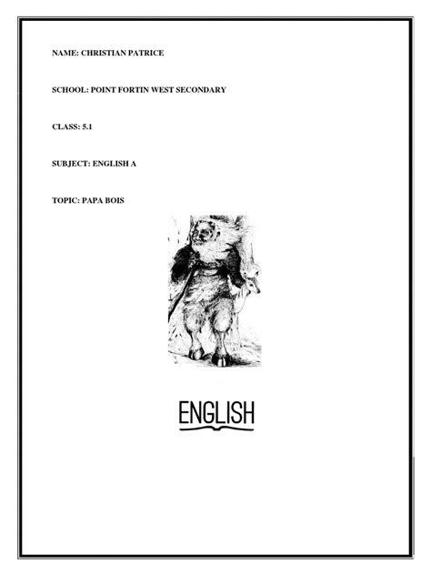 (English Sba) | Trinidad And Tobago | Languages