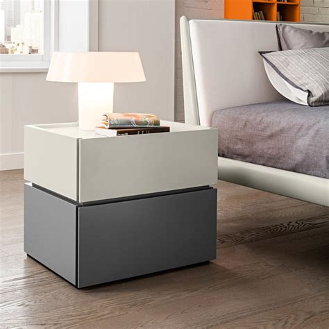 maverik modern luxury bedside cabinet with drawers by
