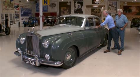 roll royce garage icon derelict 1958 rolls royce on jay leno s garage