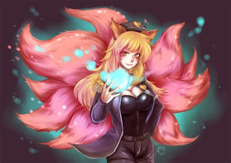 Popstar Ahri! by phrysm on DeviantArt