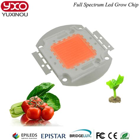Lu Led Grow Light 100w led grow chip 60pcs x 3w bridgelux spectrum