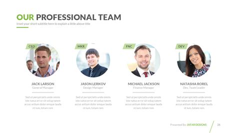 powerpoint profile template company profile powerpoint template by jafardesigns