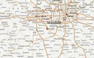 image gallery mansfield map