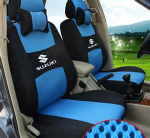 Car Seat Covers For Suzuki Alto Blue Grey Color Car Seat Covers For Suzuki