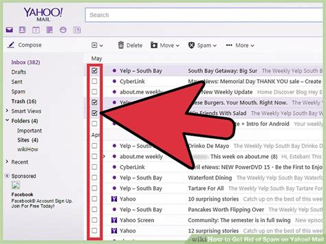 email yahoo about spam how to get rid of spam on yahoo mail 10 steps with