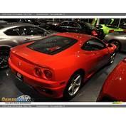 2002 Ferrari 360 Modena Red / Tan Photo 12  DealerRevscom