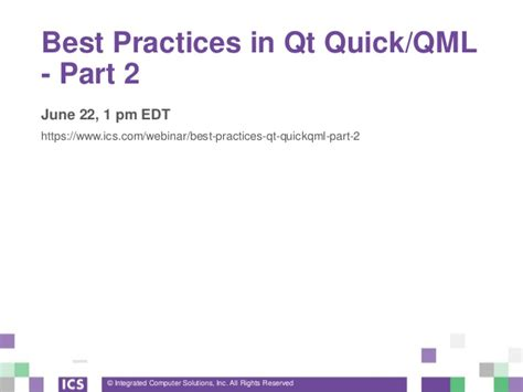 qt programming best practices best practices in qt quick qml part 1 of 4