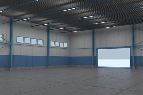 warehouse interior 3d warehouse interiors