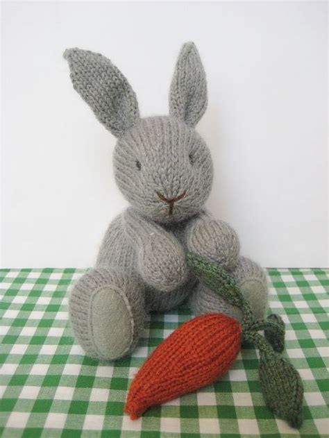 free rabbit knitting pattern uk the 146 best images about bunny and cotton