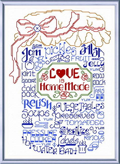 cross stitch pattern generator words let s make jam cross stitch pattern words