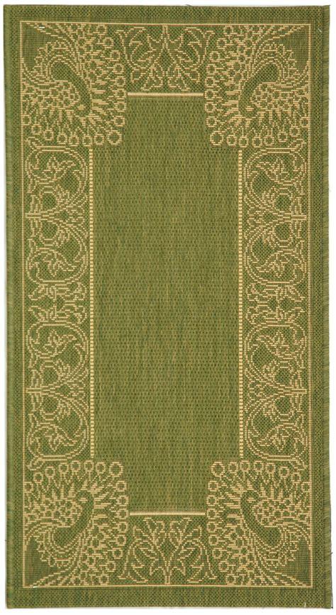 safavieh indoor outdoor rugs safavieh indoor outdoor olive polypropylene area