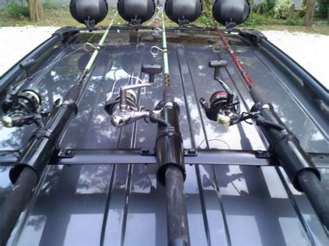Roof Rack For Fishing Rods by Fishing Rod Holders For Roof Racks Fish And Ing