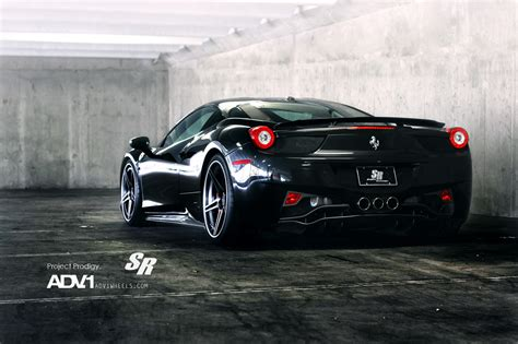 black ferrari back black rear ferrari 458 italia car hd wallpapers