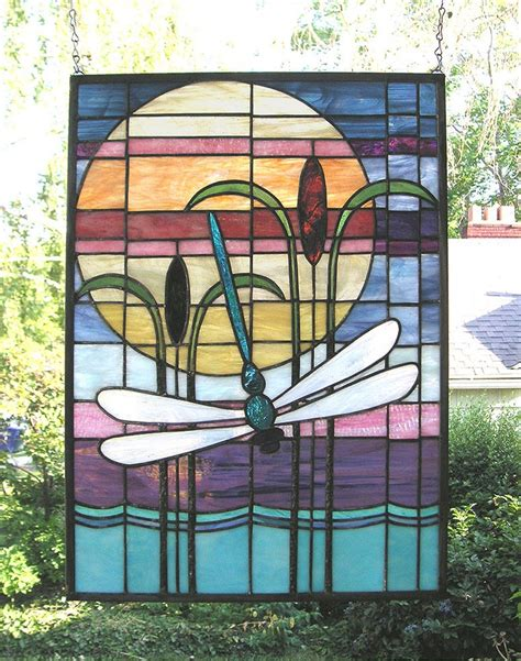 dragonfly stained glass l 316 best stained glass butterflies dragonflies images on